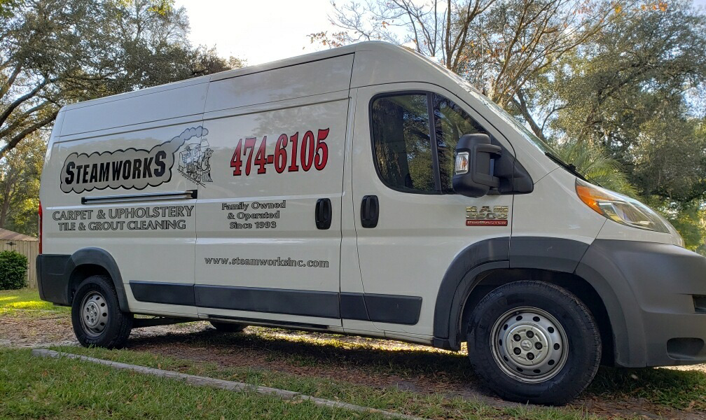 SteamWorkS Carpet Cleaning In Gainesville Florida