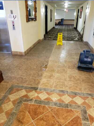 Residential Grout Cleaning Service