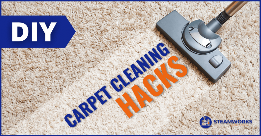 DIY Carpet Cleaning secrets and tips